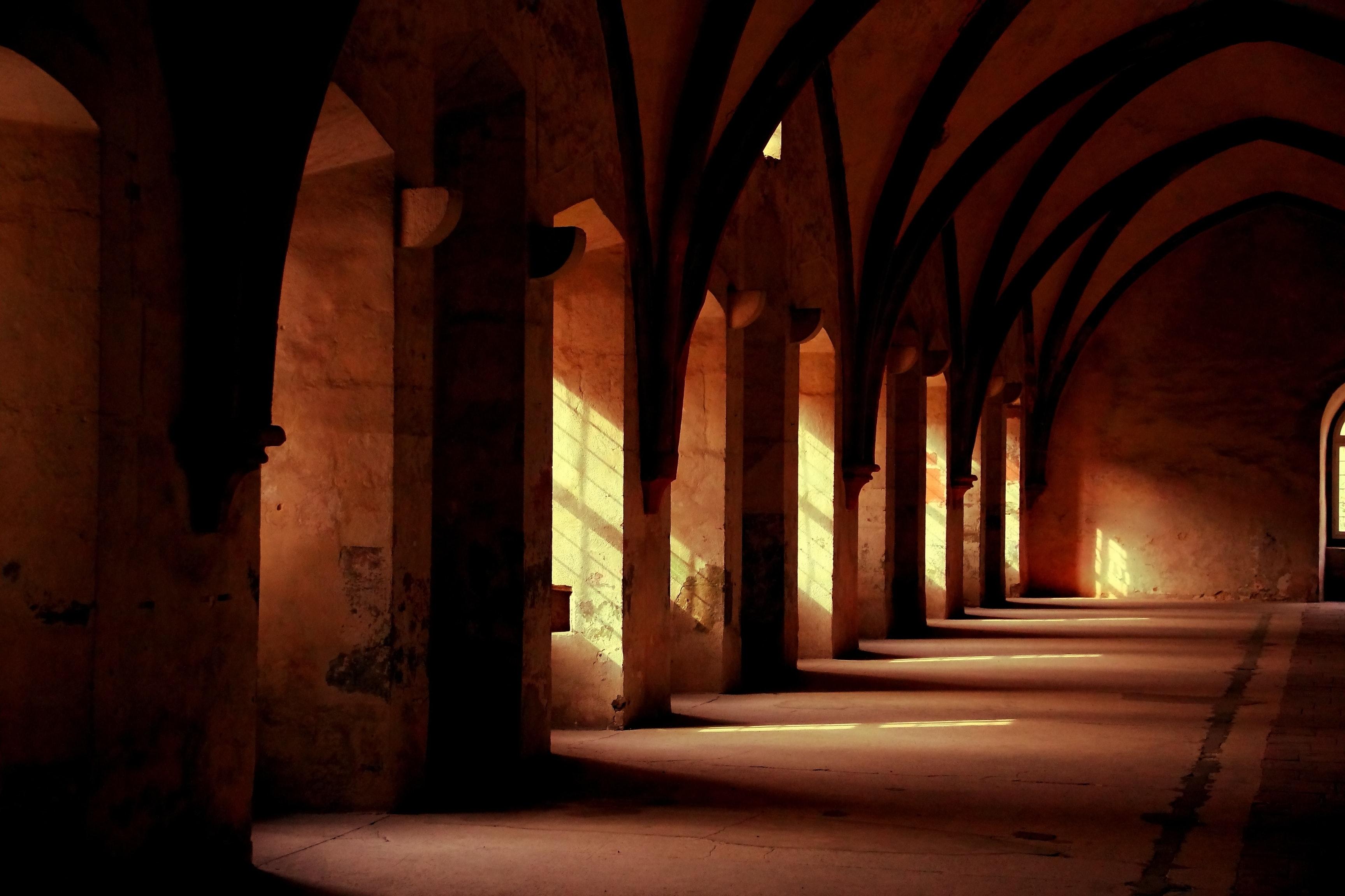 monastic sunset :: hartmut tobies